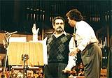 García Asensio with Placido Domingo