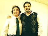 Garcia Asensio with Placido Domingo