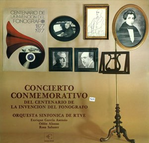 Concert in Commemoration of the Centenary of the Phonograph
